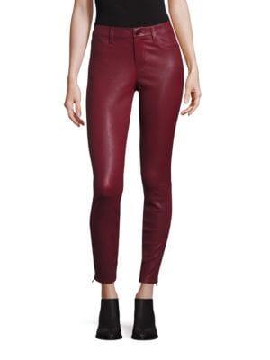 Jeanși de damă J BRAND Leather