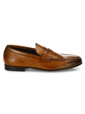 Alek Leather Penny Loafers