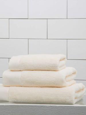 Diamond Border Egyptian Cotton Hand Towel