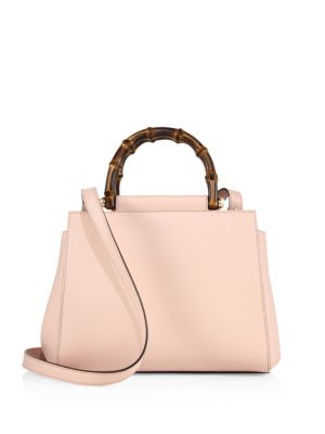 gucci female nymphea leather tophandle bag