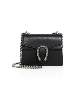 Mini Dionysus Leather Chain Shoulder Bag