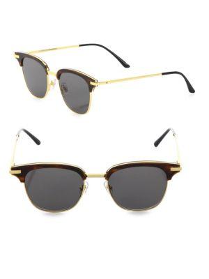 Core 52MM Semi-Rimless Sunglasses