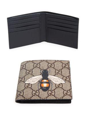 4a1cc1ed890 GUCCI Gg Bee Billfold Wallet