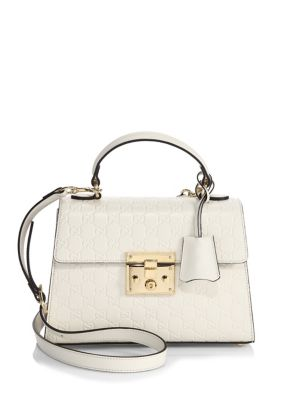 Padlock Small GG Leather Top-Handle Bag