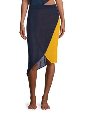 Lola Mesh Wrap Skirt by FLAGPOLE