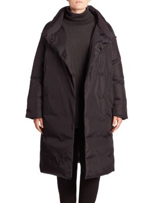 Double-Breasted Down Coat plus size,  plus size fashion plus size appare