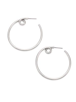 marc jacobs female 45900 twisted hoop earrings04
