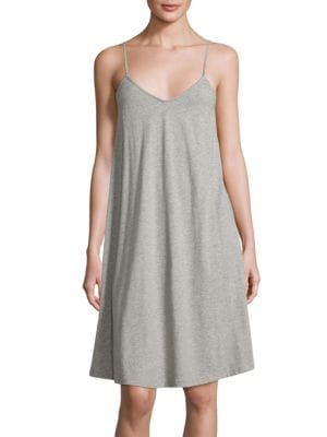 Heathered Cotton Chemise by SKIN