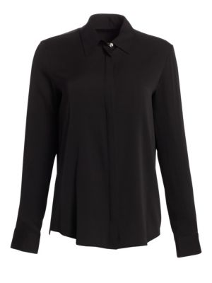 Essentials Petan Stretch Silk Shirt