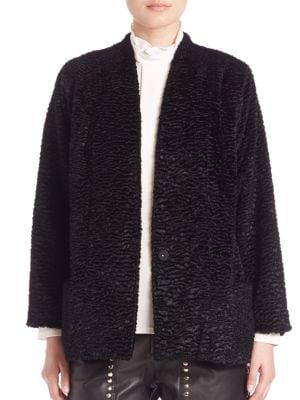 Faux Shearling Coat by SET