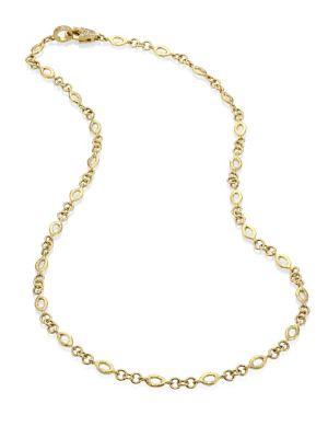 JORDAN ALEXANDER Diamond & 18K Yellow Gold Marquis Chain Necklace