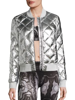 Idol Quilted Bomber Jacket