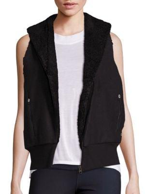 Flat Iron Faux Fur Vest