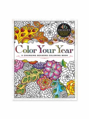 Color Your Year Coloring Book