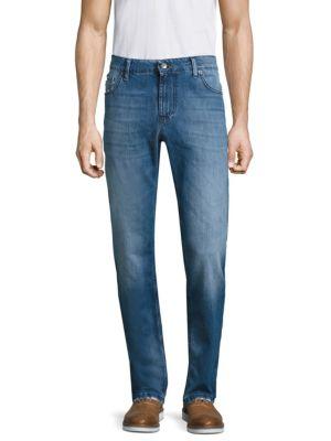 Slim-Fit Straight Jeans