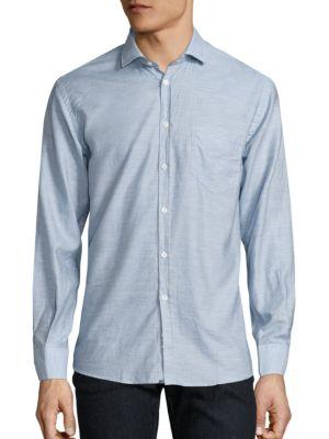 Billy Reid标准剪裁棉制衬衣
