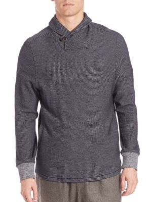 Barnes Shawl Collar Sweater