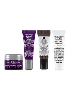 Receive a free 4-piece bonus gift with your $85 Kiehl's purchase & code