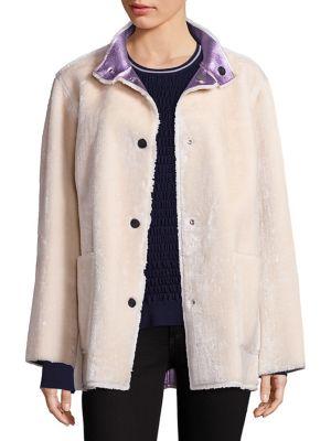 Culver Faux Fur Reversible Coat