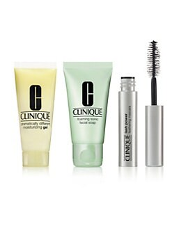 Receive a free 3-piece bonus gift with your $75 Clinique purchase & code