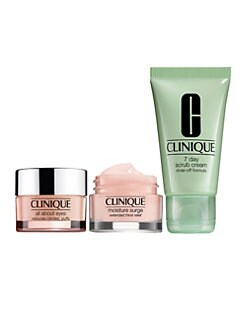 Receive a free 3-piece bonus gift with your $75 Clinique purchase
