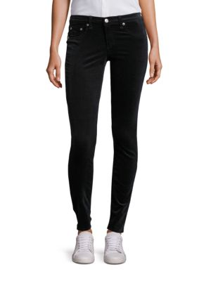 Scarab Velvet Skinny Jeans