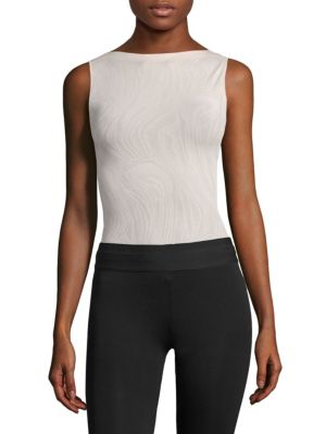 Marble String Bodysuit