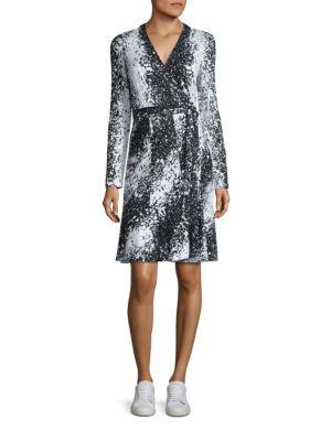 Lilyann Silk Wrap Dress