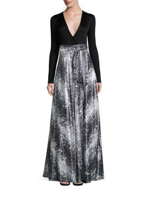 Aviva Wrap Gown