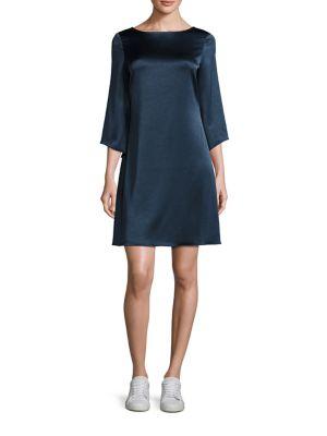 Korrey Solid Shift Dress