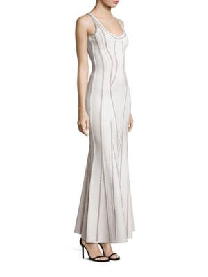 Sleeveless Knit Gown