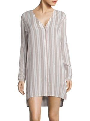 Lara Striped Sleepshirt