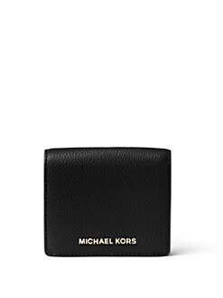 MICHAEL MICHAEL KORS - Leather Bifold Card Wallet