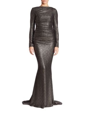 Glitter Jersey Gown