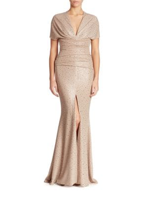 Glitter Sequin Gown