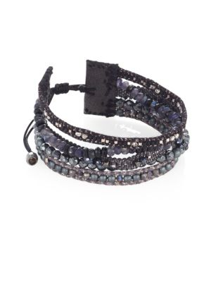 Mix Beaded Multi-Row Bracelet