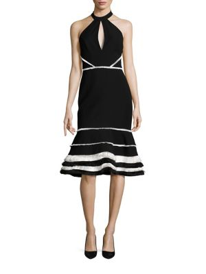 Doriann Keyhole Dress