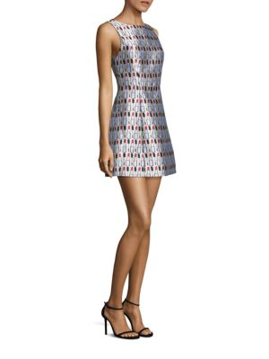 Lindsey Structured Pouf Dress