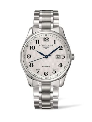 Automatic Stainless Steel Bracelet Watch