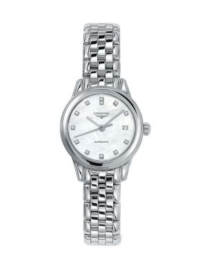 Stainless Steel Automatic Bracelet Watch