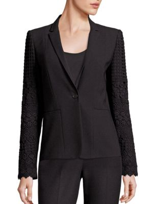 Tova Lace Trimmed Jacket