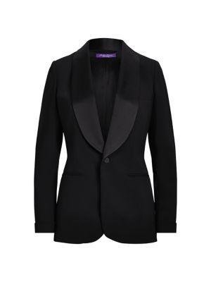Iconic Style Wool & Silk Sawyer Jacket