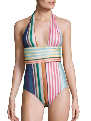Mix Sciarpe One-piece Swimsuit