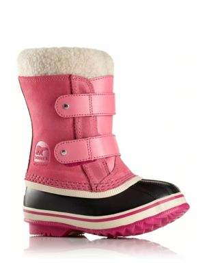 Baby's 1964 Pac Faux Fur-Cuff Suede Snow Boots