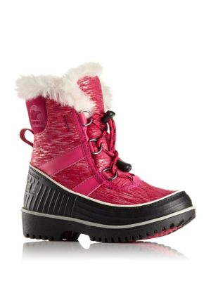 Toddler's & Kid's Tivoli II Faux Fur-Trim Snow Boots
