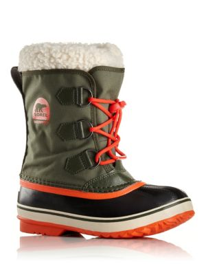 Toddler's & Kid's Yoot Pac Faux Fur-Cuff Snow Boots