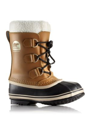 Toddler's & Kid's Yoot Pac Faux Fur-Cuff Leather Snow Boots