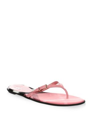 Meadow Patent Leather Flip Flops
