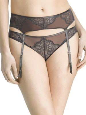 Whisper Laced Garter Belt