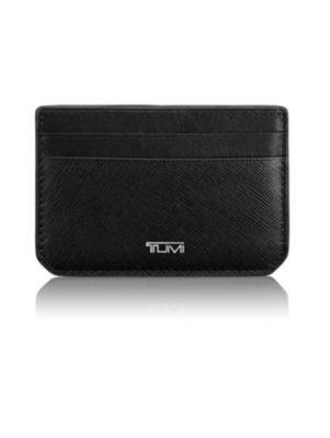 Textured Leather ID Slim Card Case